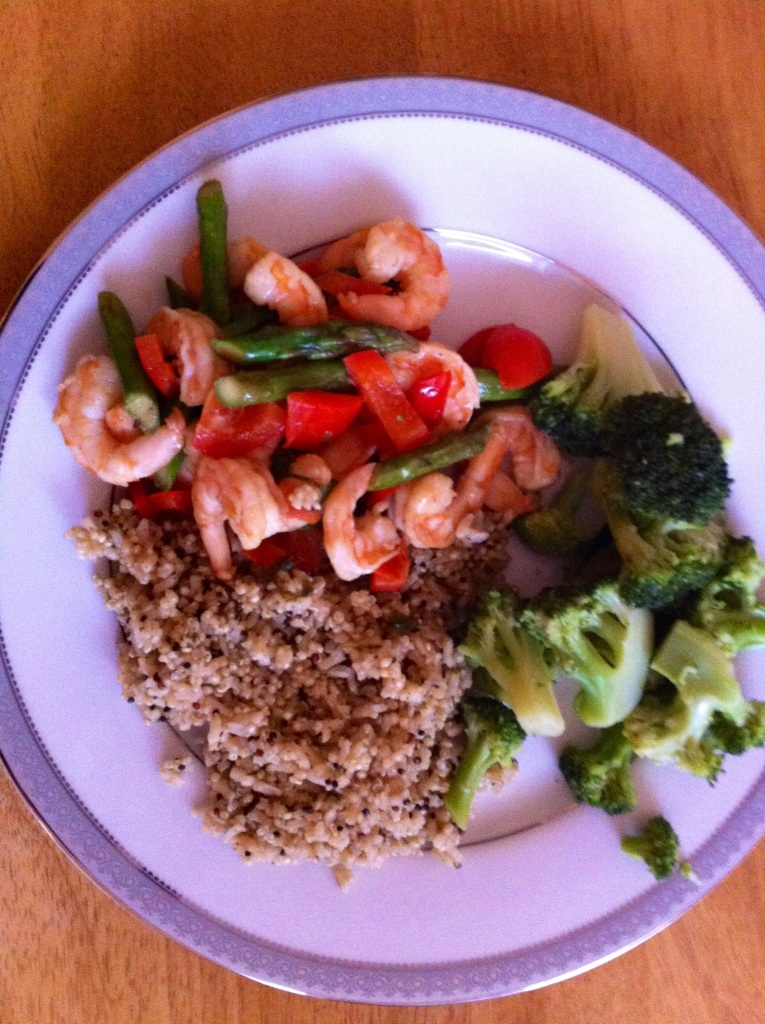 Voila: A healthy and easy-to-make dinner!