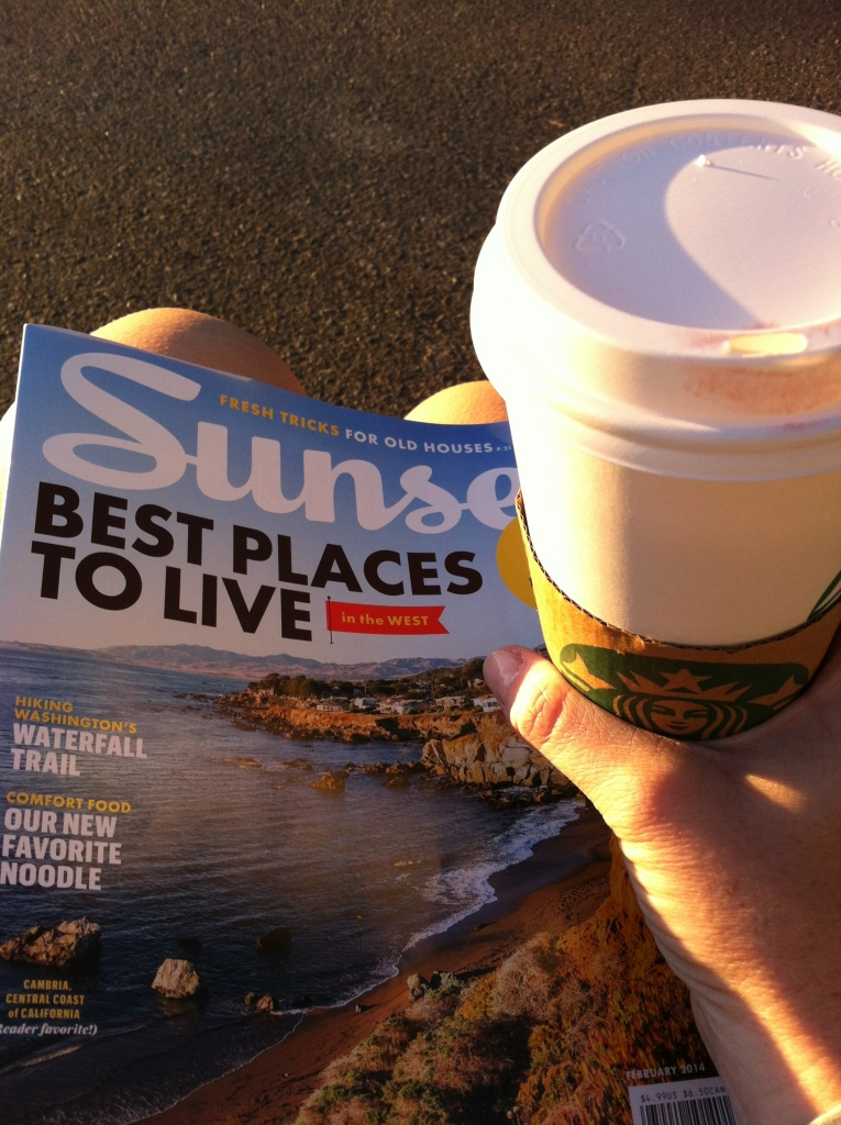 I was lucky there was a Starbucks on the way to the SD 50 start line!
