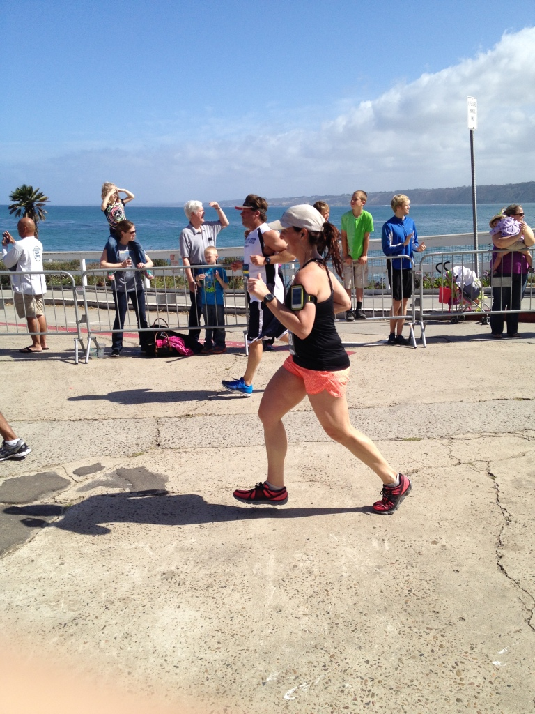 Coming into the finish line!