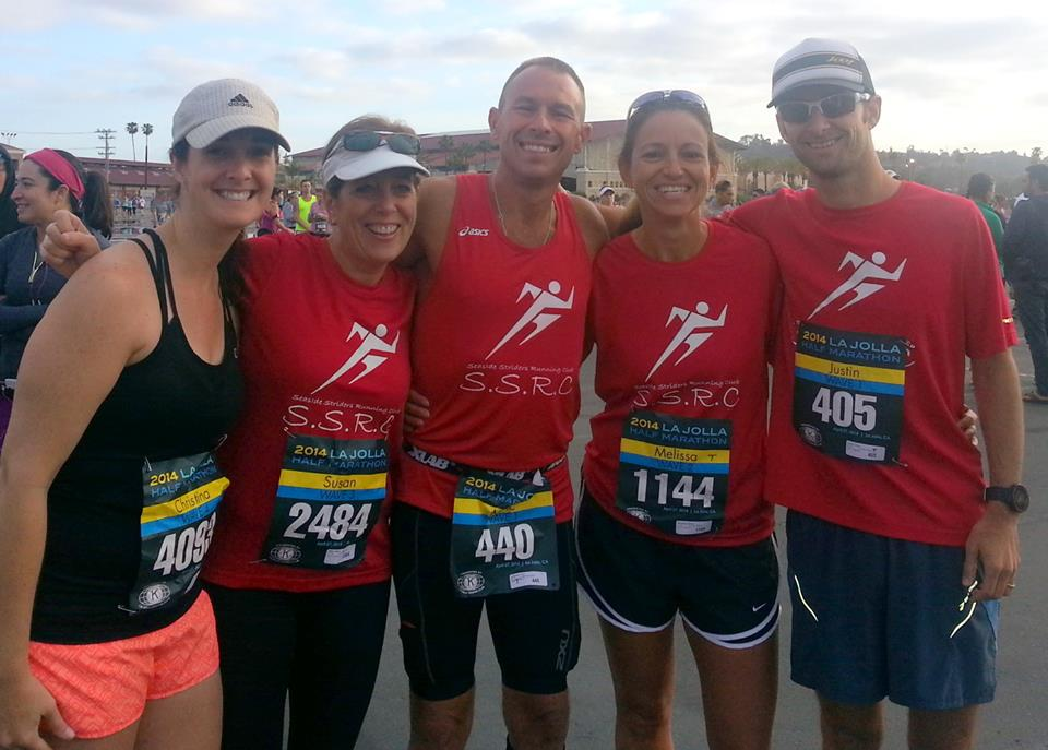 Seaside Striders, La Jolla Half Marathon