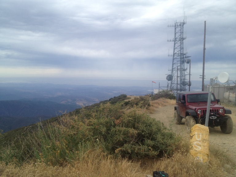 Santiago Peak Harding Hustle 50K