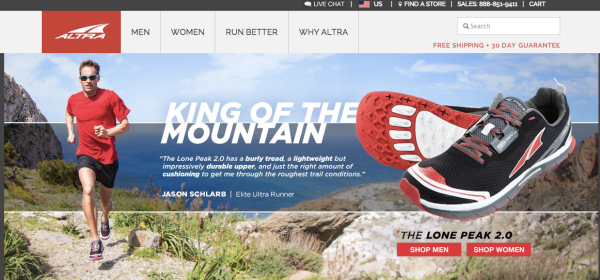 Altra, Fitness Marketing