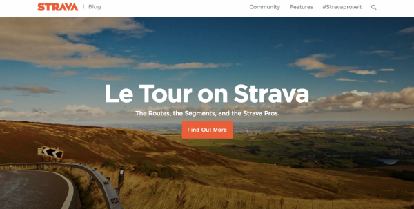 Strava, Fitness Marketing