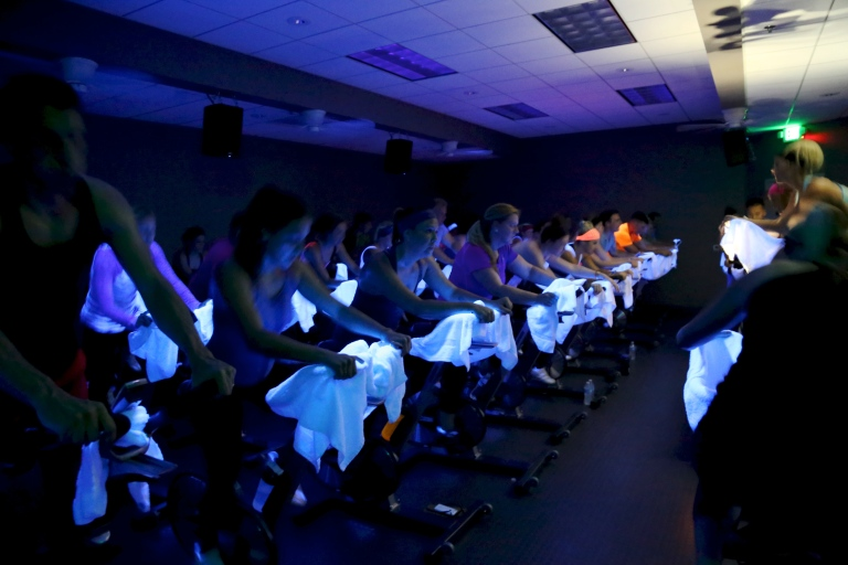 The Rush Indoor Cycling Studio