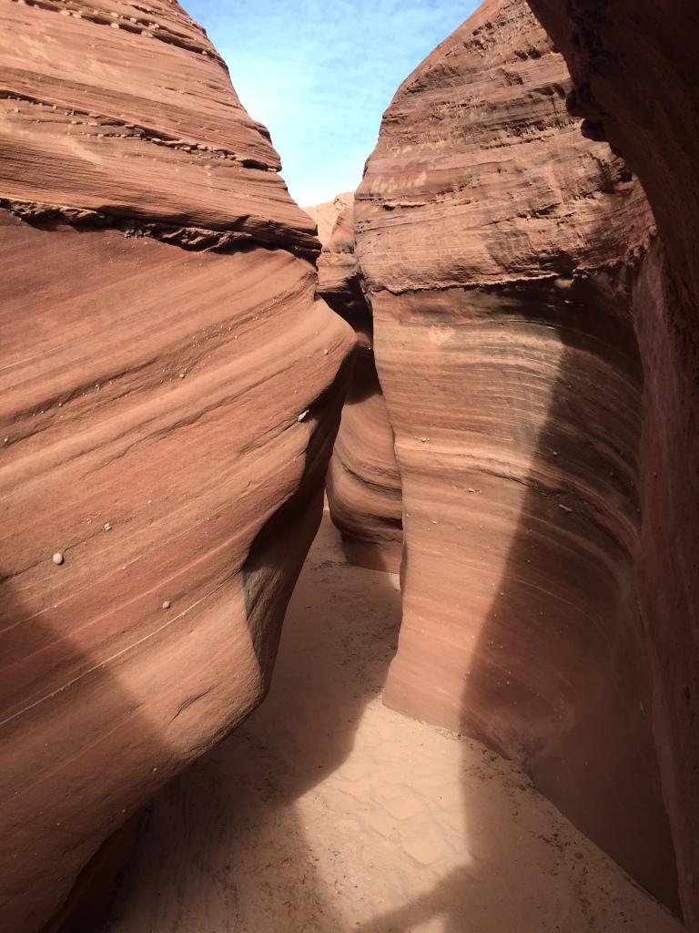 Antelope Canyon 55K, slot canyon